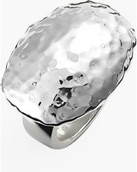 Simon Sebbag Hammered Dome Ring - Lyst
