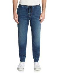 Joe's Jeans Quest Slim Denim Jogger Pants - Lyst