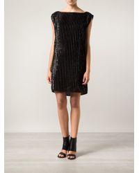Zero + Maria Cornejo Feather Stripe Irina Dress - Lyst