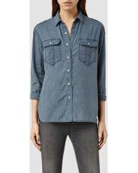 AllSaints | Octavia Shirt | Lyst