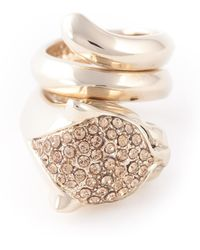Roberto Cavalli Round Shape Ring - Lyst