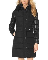 Michael Kors Fur-Trimmed Down-Filled Jacket - Lyst