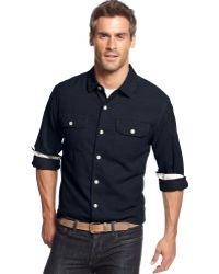 Tommy Bahama Seaside Flannel Shirt - Lyst