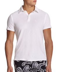 Vilebrequin Classic Terry Polo - Lyst