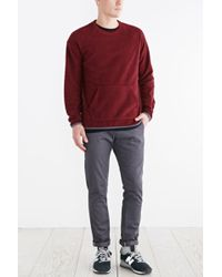 BDG - Polar Fleece Crew Neck Sweatshirt - Lyst