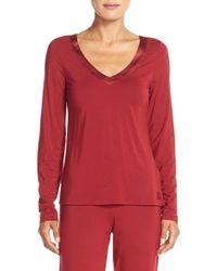 CALVIN KLEIN 205W39NYC - 'essentials' Stretch Modal Pajama Top - Lyst