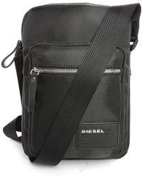 DIESEL | Grey Damper Pr Shoulder Bag | Lyst