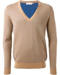 Alexander McQueen Polka Dot Sweater - Lyst