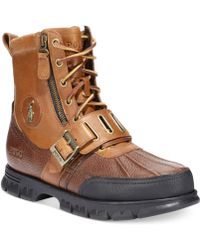 Polo Ralph Lauren Andres Iii Boots - Lyst