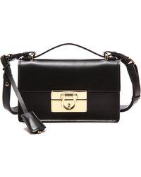 Ferragamo Aileen Shoulder Bag  Nero - Lyst