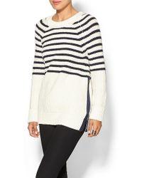 Kate Spade Beige Aura Sweater - Lyst
