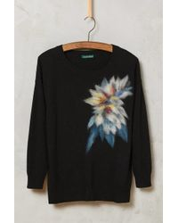 Troubadour - Felted Floral Pullover - Lyst