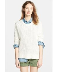 Madewell 'Shaker' Chunky Pullover Sweater - Lyst