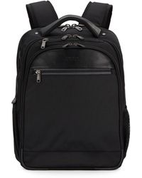 Kenneth Cole Reaction - Leather-Trimmed Briefcase/Backpack - Lyst