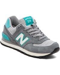 New Balance Gray Pennant Collection - Lyst