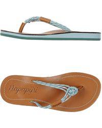 Napapijri - Thong Sandal - Lyst