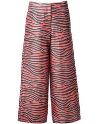 House of Holland Wide Leg Trousers pink - Lyst