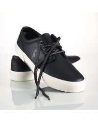 Polo Ralph Lauren Leather Faxon Sneaker - Lyst
