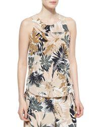 Rag & Bone Patricia Silk Floral-Print Top - Lyst