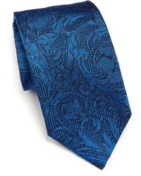 Versace   Raised Jacquard Tie   Lyst