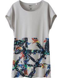 Uniqlo Women Sprz Ny Graphic T-shirt Sam Francis - Lyst