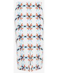 Tanya Taylor Bundy Printed Skirt - Lyst