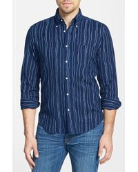 Gant Rugger E-Z Fit Rope Print Oxford Shirt - Lyst