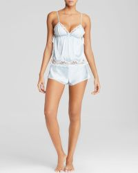 In Bloom By Jonquil Bridal Blue Cami Short Set - Lyst