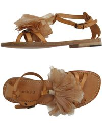 Exquisite J - Sandals - Lyst