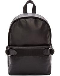 Silent - Damir Doma - Black Leather Aliot Backpack - Lyst