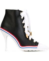 Moschino Trainer Ankle Boots - Black