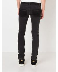 House of Holland - Knee Patch Jeans - Lyst