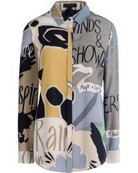 Burberry Prorsum Long Sleeve Shirt - Lyst