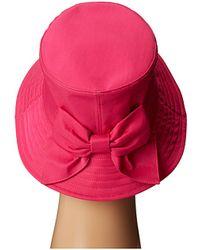 Kate Spade Nylon Bucket Hat - Lyst