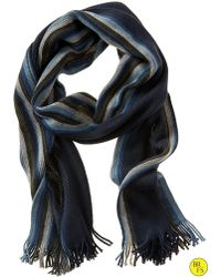 Banana Republic Factory Muti Stripe Scarf - Blue Stripe - Lyst