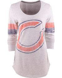 Nike Womens Long-sleeve Chicago Bears T-shirt - Lyst