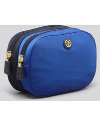 Tory Burch Cosmetic Case - Travel Nylon Double - Lyst