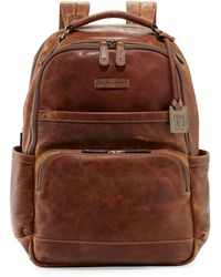 Frye Logan Mens Pull-up Leather Backpack - Lyst