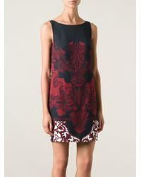Versace Baroque Print Dress - Lyst