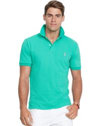 Polo Ralph Lauren Classic-Fit Mesh Polo Shirt - Lyst