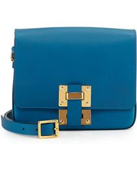 Sophie Hulme Box Flap Bag - Lyst