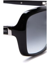 Marc By Marc Jacobs - Classic Square Sunglasses - Shiny Black/gray Gradient - Lyst