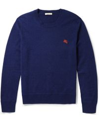 Burberry Brit Crew Neck Cashmere Sweater - Lyst