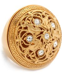 Versace Cocktail Ring  - Lyst
