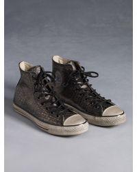 John Varvatos - Chuck Taylor All Star Reptilian Sneaker - Lyst 8f1dad291
