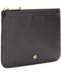 Mulberry Tree Pouch Leather Clutch - Lyst
