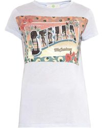Stella McCartney Greetings From Stella T-shirt - Lyst