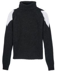 Costume National Turtleneck Sweater - Lyst