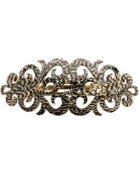 France Luxe - Elysee Scroll Acetate Barrette - Lyst