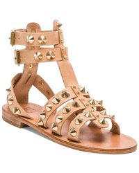 ff09b3a689587a Ankle Cuff Sandals in Black.  299 Sold out. REVOLVE · Anine Bing - Studded  Sandal - Lyst